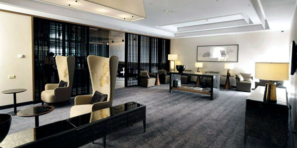 Image result for singapore airlines home concept lounge