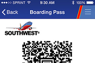 Southwest Airlines Mobile Boarding Pass Now At 8 Airports