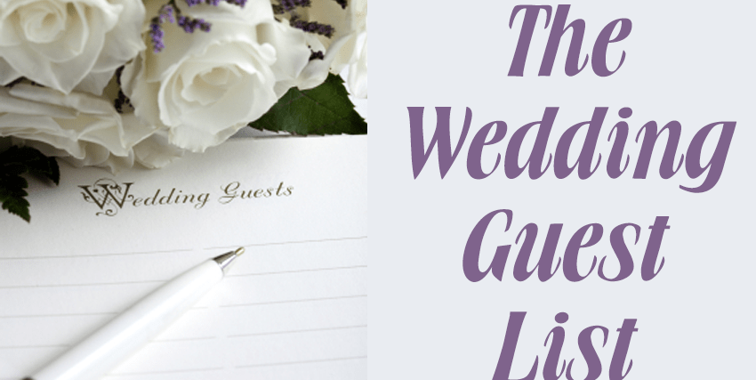 how to create your wedding guest list futurevents ja
