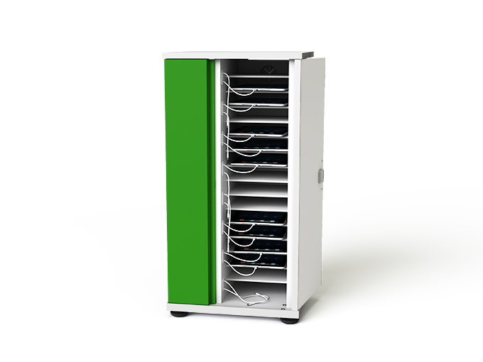 Zioxi SYNCCTB16 Bay iPad and Tablet Charging Storage Cabinet