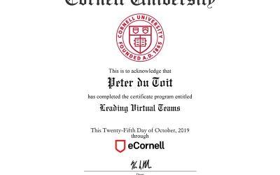Cornell Certification