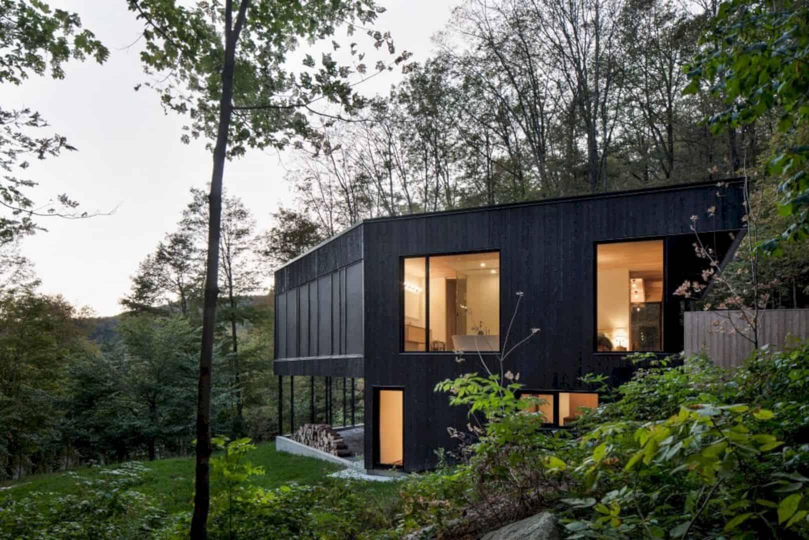 The Rock A Black House On A Hillside 7