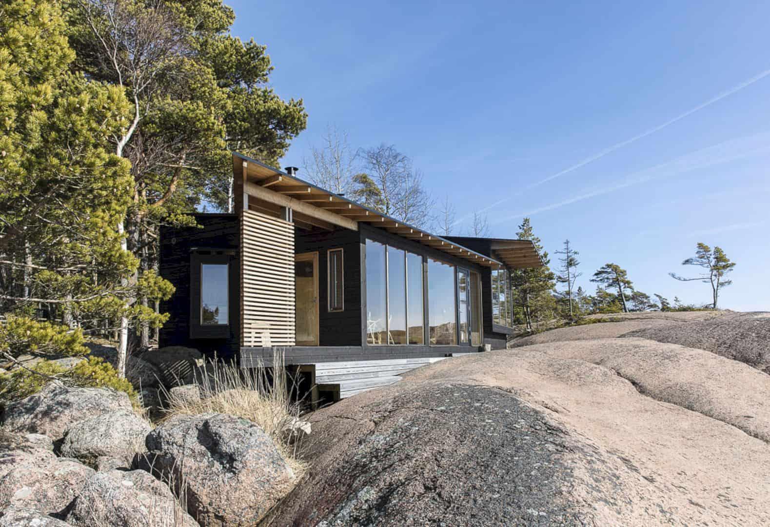 Saukonrotko: A Sauna Pavilion for Summer Living
