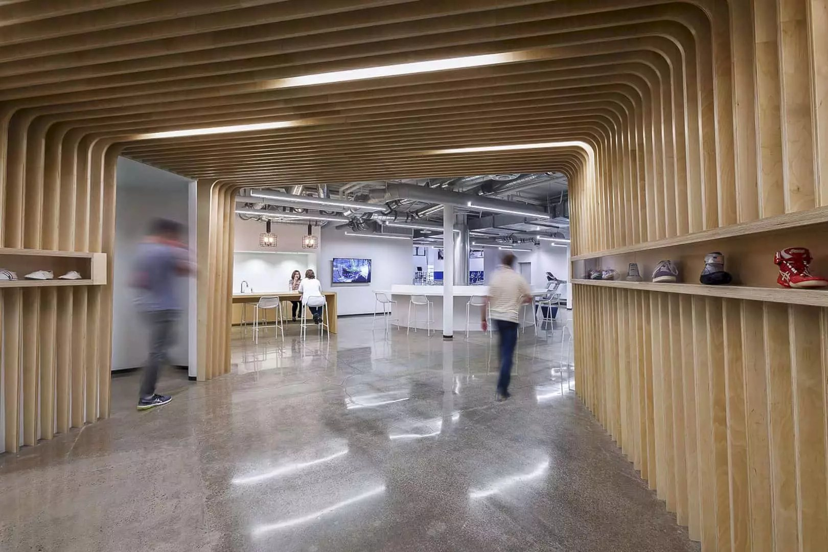 ASICS North America Headquarters: An Office Environment with Health, Fitness, and Wellness Advantages