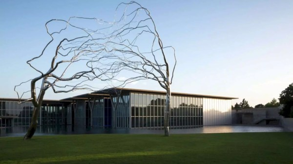 """Fort Worth Museum Modern Art With """"building In"""