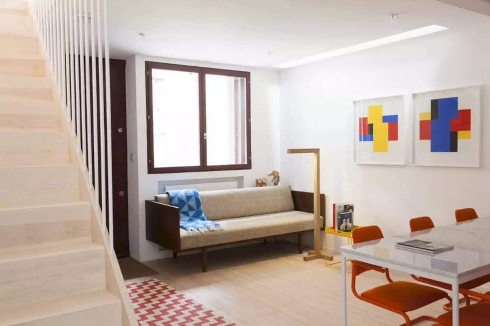 London Home Airbnb Rental Studiomama: A House with Minimalist Interior and New Layout
