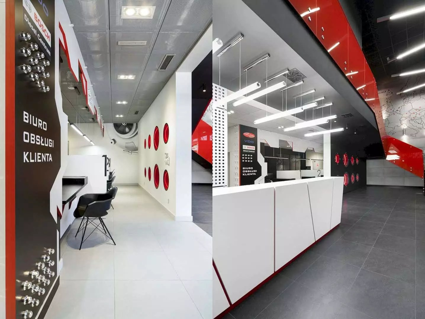 Turbo Tec: Modern Interior Design and Color Identity for One of the Largest Independent Companies in Europe