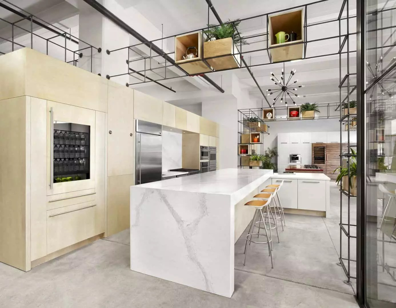 Appliance Love: Commercial Project of A Showroom with Modern Interior and Innovative Space