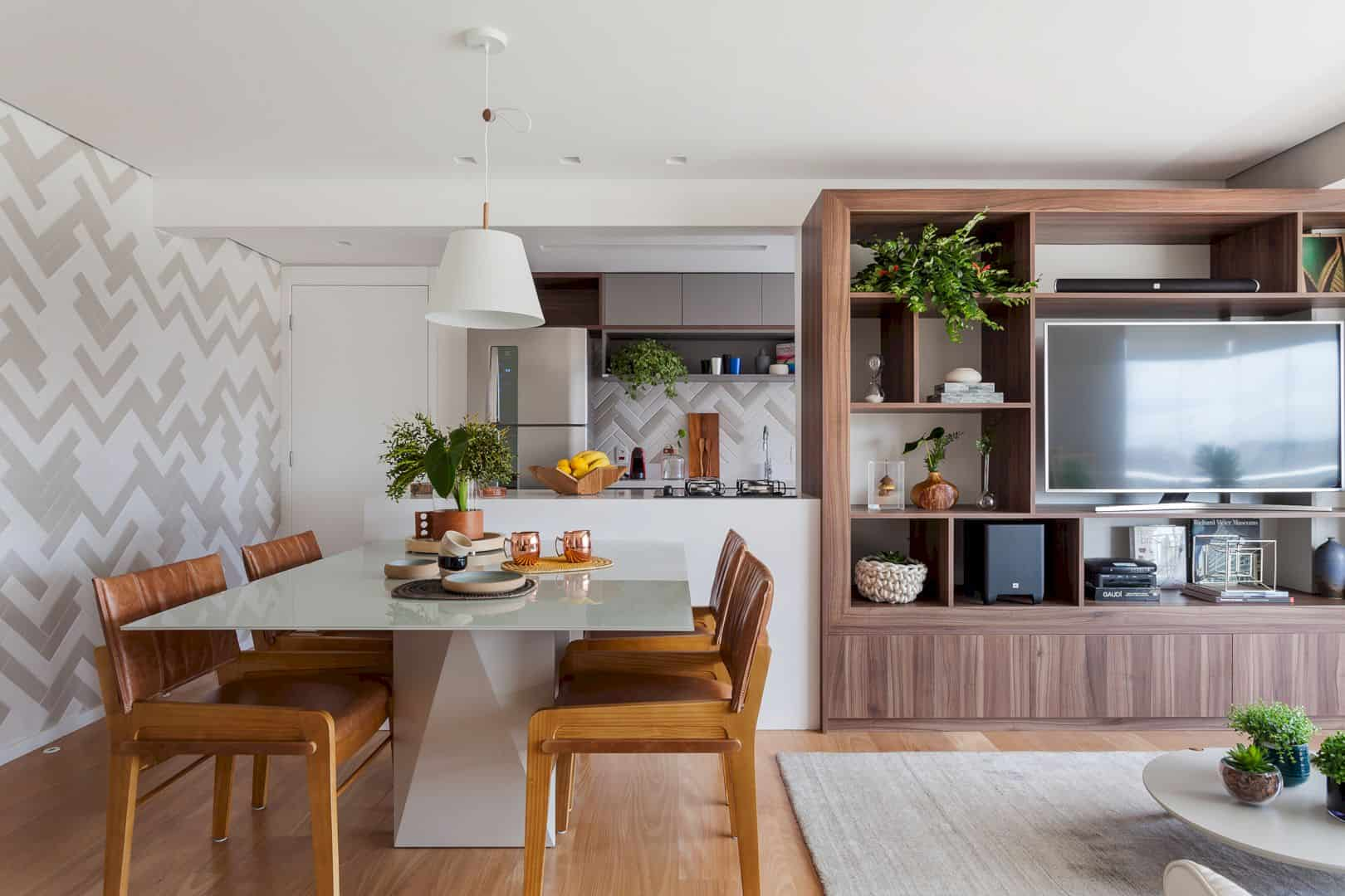 Apartment for Rent: Neutrality and Modernity of Apartment with Practical and Cozy Space