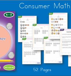Consumer Math \u0026 Money Workbook [ 753 x 1334 Pixel ]