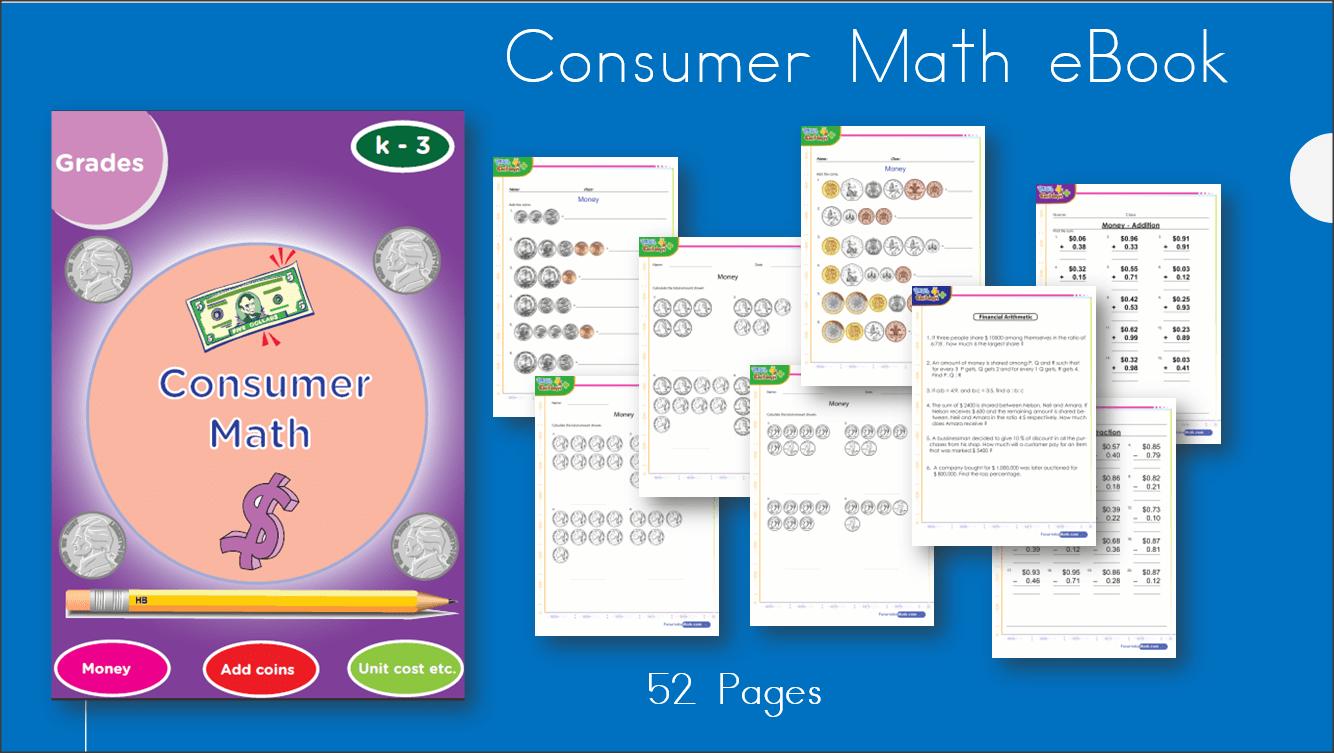 hight resolution of Consumer Math \u0026 Money Workbook