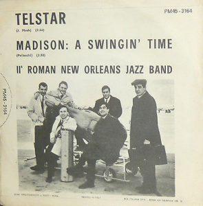La copertina di Telstar eseguito dalla II Roman Jazz Band