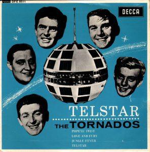 La copertina di Telstar dei Tornados
