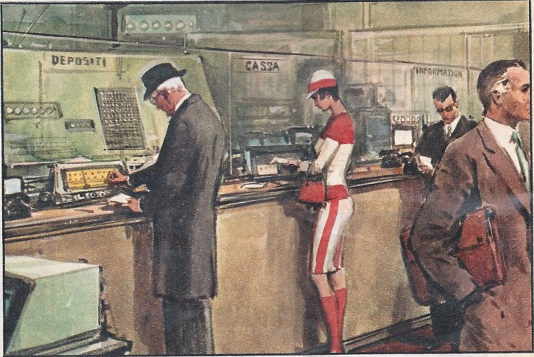 1962: dalle prenotazioni aeree alle banche automatizzate