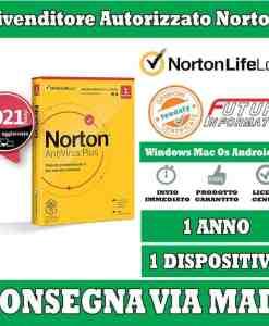 Norton AntiVirus 1 Computer