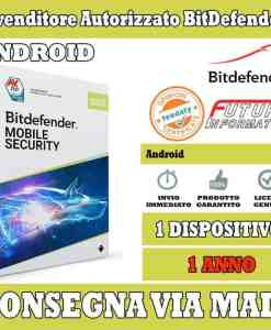 Bitdefender mobile security 1 android 1 anno