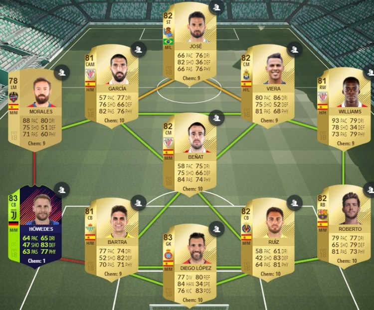 fut 18 path to glory printemps non echangeable