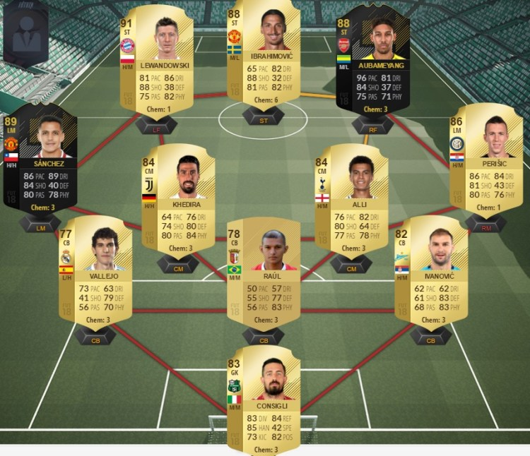 fut 18 prediction totw 29 team