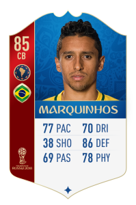 fut 18 world cup bresil marquinhos