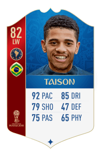 fut 18 world cup bresil taison