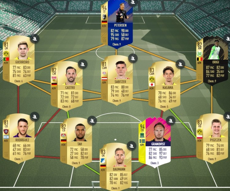 fut 18 solution DCE aguero potm futties argentine