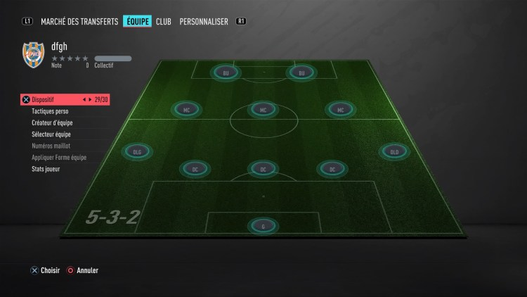 fut 20 guide des formations 5-3-2