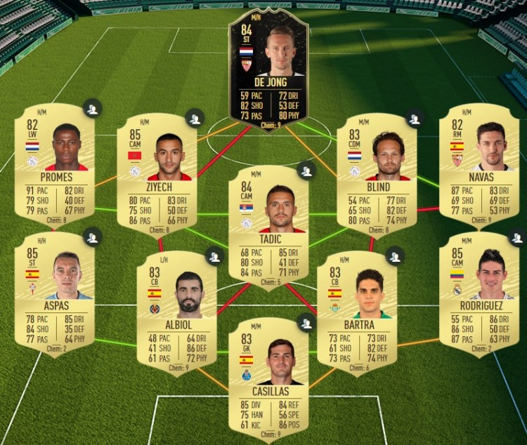 fut 20 solution dce davies moments equipe 84