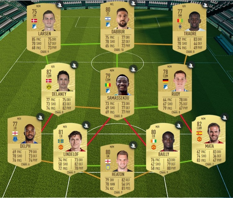 fut 20 solution dce manchester united manchester city