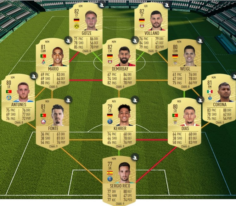 fut 20 solution dce defi bundesliga 20 05