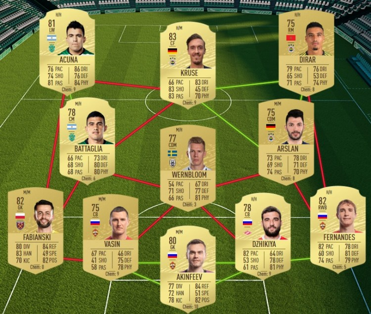 fut 20 solution dce defi premier league 07 05