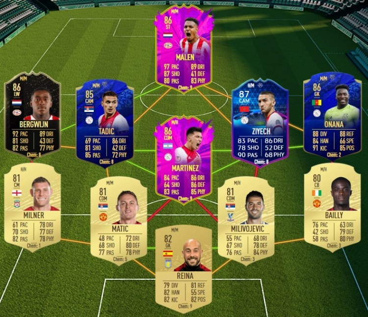 fut 20 solution dce bernardo silva summer premier league