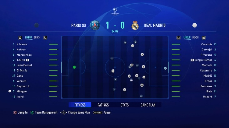 fifa 21 pitch notes carriere 1