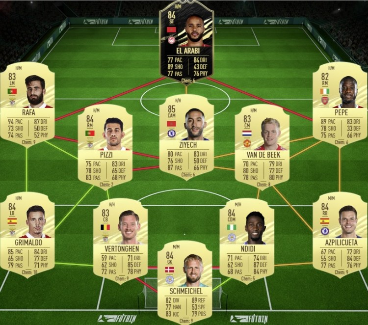fut 21 solution dce wan-bissaka freeze manchester united