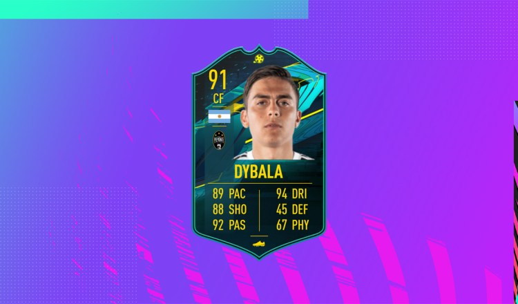 fut 21 solution dce dybala moments mini
