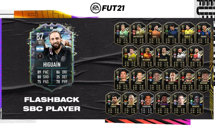 fut 21 solution dce higuain flashback mini