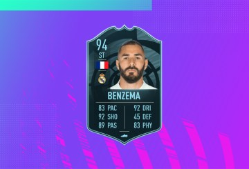 fut 21 solution dce benzema potm mini