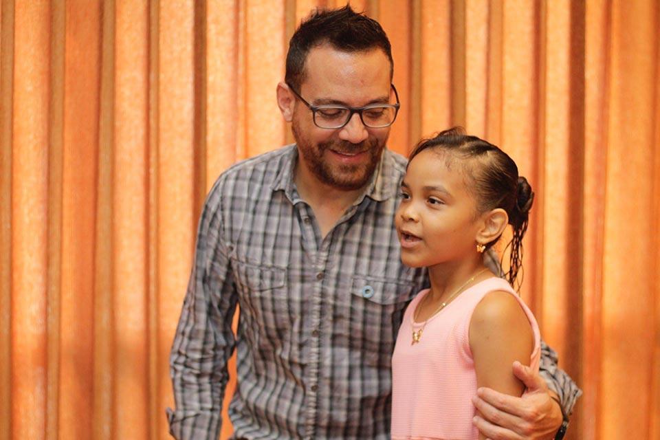 Niñas y niños tocados por la Diabetes tipo 1 levantan su voz.