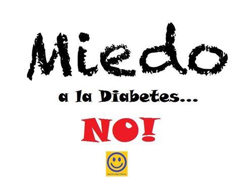 !Miedo a la Diabetes!