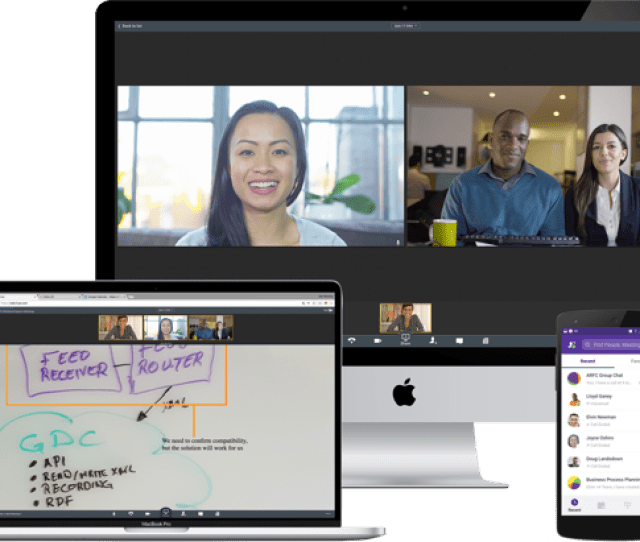 Seamless Calling Meetingchatting And Content Sharing