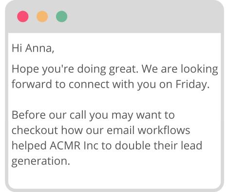 webinar / meeting reminder