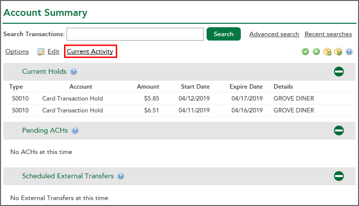Where Can I Find Pending Transactions In Rcu Online Banking