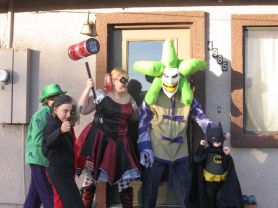 Batman vs Joker, Harley Quinn, Two-Face, and Riddler