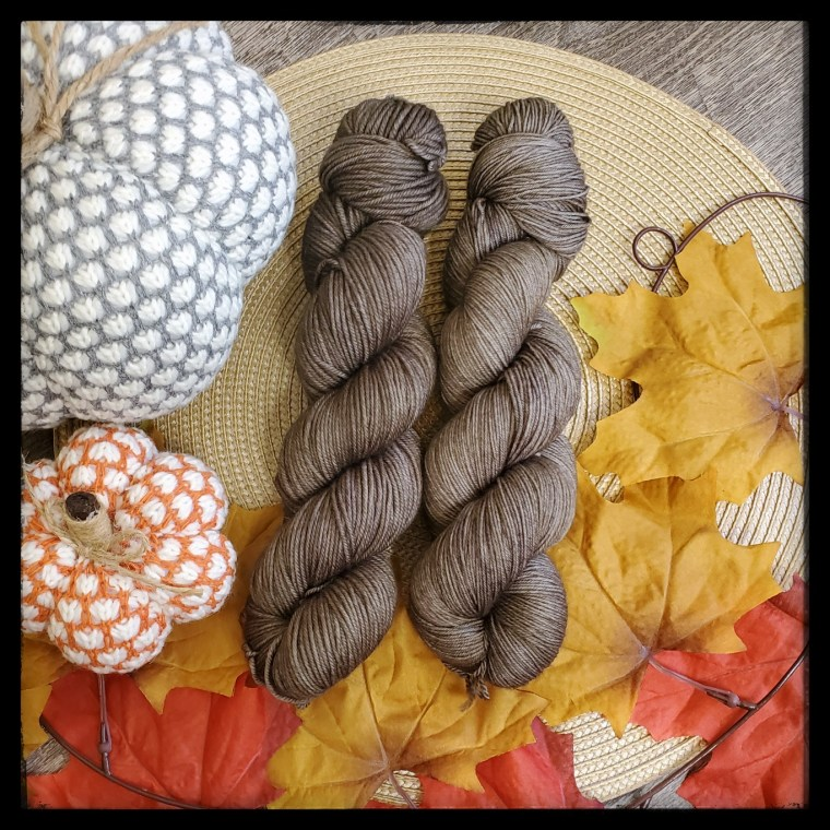 Taupe skeins