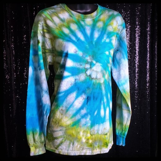 Long sleeve Tshirt Tie dye