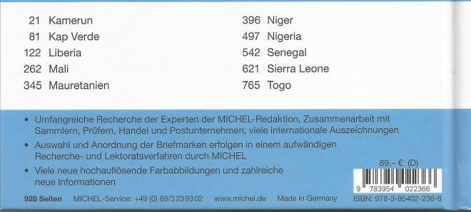 Back west Afrika