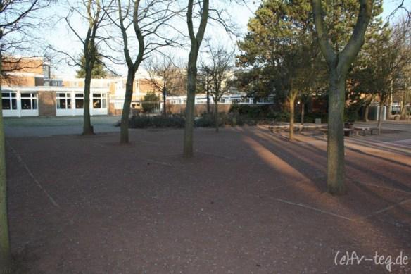 Der Schulhof für die Großen (Klasse 3 bis 6)