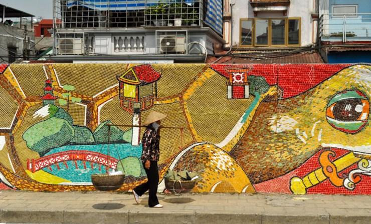 FVH Talk - Hanoi Mosaic Wall