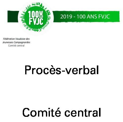 PV CC3 – Septembre