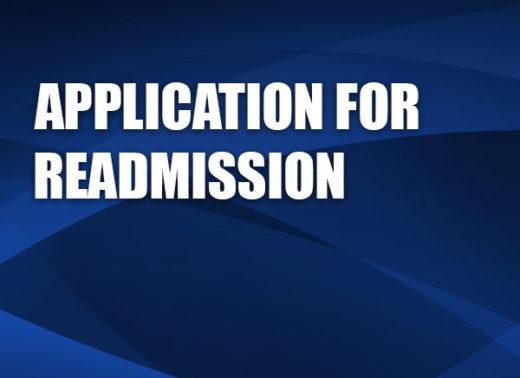 applicationforreadmission