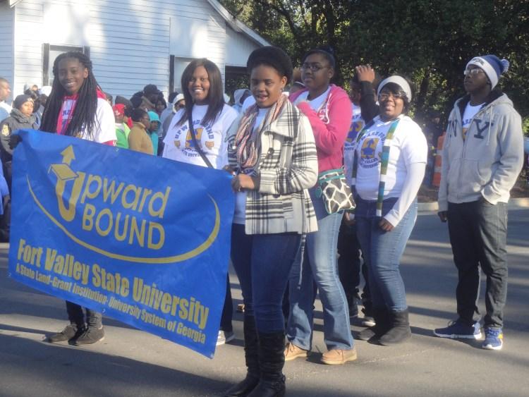 FVSU UPWARD BOUND students